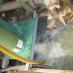 Bomba reciclaje plastico