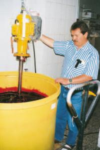 mezcladora industrial serie Y HS aplicación
