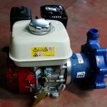 Bomba DB con motor diesel para descargar cisternas