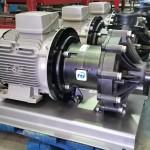 Bomba acoplamiento magnetico en PVDF (Serie DB)