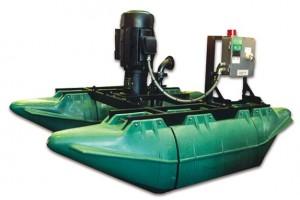 mezcladora industrial de helice flotante